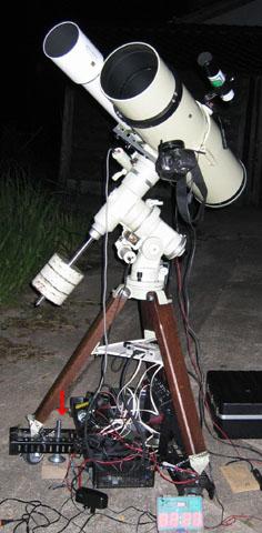 18cmF4ライトシュミット鏡筒